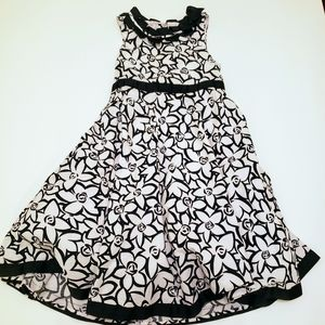 Polly & Friends floral print girls dress size 8